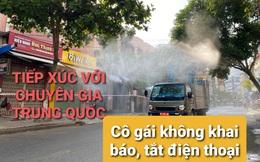 Cô gái tắt điện thoại sau khi tiếp xúc gần với khách Trung Quốc mắc Covid-19 ở khách sạn