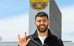 Sergio Aguero chính thức gia nhập Barcelona
