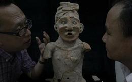 Phục chế bảo vật tượng gốm thầy cúng 5300 năm tuổi gây chấn động thế giới bởi vẻ ngoài 'vi diệu'