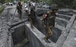 Quân đội Myanmar pháo kích dồn dập nhóm vũ trang trong đêm, dân chúng tháo chạy vào rừng