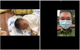 Bận phòng dịch không thể về, chiến sĩ CAND đón con chào đời qua điện thoại khiến tất cả xúc động