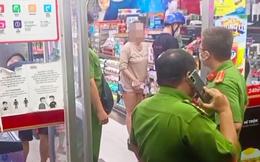 Xử phạt người phụ nữ không đeo khẩu trang đến cửa hàng tiện lợi, quát công an ở Sài Gòn