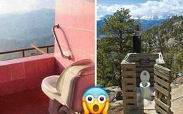 14 nhà vệ sinh có view ''độc nhất vô nhị'', ngồi một lần là nhớ cả đời luôn