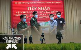 """Lời tri ân từ Bộ đội biên phòng Tây Nam và các """"chiến binh xét nghiệm"""" Bắc Giang"""