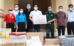 Bắc Giang: Nhiều tổ chức, DN trong cả nước ủng hộ kinh phí, vật tư chống dịch