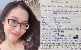 """Nữ sinh trường Y viết đơn xin tham gia phòng chống dịch: """"Không có bài học nào giá trị hơn là xông pha ngoài mặt trận"""""""