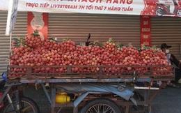 Vải thiều tràn ngập thị trường trái cây TP HCM