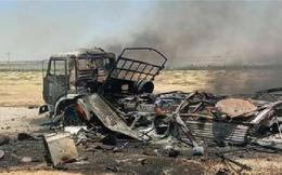 """Cả gan tấn công xe chở lực lượng Hổ Syria, IS """"giỡn mặt tử thần"""""""