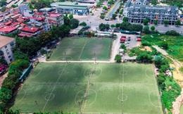 Hà Nội: Đất dự án công viên hồ điều hoà 1.600 tỷ đồng hóa sân bóng, bãi đỗ xe