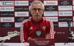 """HLV UAE: """"Giờ chúng tôi mạnh hơn so với lúc thua Việt Nam"""""""