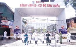 Hà Nội: Bệnh viện K cở sở Tân Triều chính thức dỡ phong tỏa sau 36 ngày cách ly