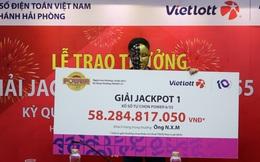 Mua vé số từ tiền thừa khi đi chợ, một người Hà Nội trúng hơn 58 tỷ đồng