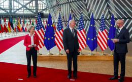 """Mỹ - EU """"đình chiến"""" thương mại để cài đặt lại quan hệ"""