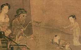 """""""Bức tranh Quỷ"""" trong Bảo tàng Cố cung, hơn 800 năm ai xem cũng không hiểu, phóng to gấp 10 lần mới phát hiện chi tiết đáng kinh ngạc"""