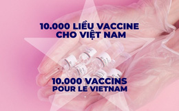 """Cộng đồng người Việt tại Pháp, Mỹ, Canada... lan tỏa chiến dịch quyên góp """"10.000 liều vaccine cho Việt Nam"""""""