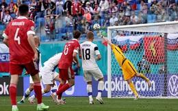 Euro 2020: Nga giành 3 điểm chật vật nhờ pha ghi bàn giống với siêu phẩm của Văn Thanh