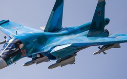 Cận cảnh màn không kích của Su-34: Uy lực và hủy diệt đến kinh ngạc