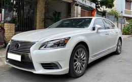 Giữ giá như Lexus LS 460L: 8 năm tuổi vẫn rao bán 3,5 tỷ đồng, ODO chỉ 2.600km/năm