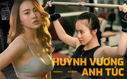 """Nữ gymmer xinh đẹp và hành trình lau máu trên từng cục tạ để """"độ"""" cơ thể bốc lửa từ 39kg"""