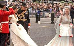 Loạt bí mật ít ai biết phía sau đám cưới của Hoàng gia Anh, đặc biệt là sự cố ''chỉ muốn giấu nhẹm đi'' với váy cưới của Công nương Diana