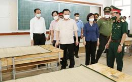 Bí thư Thành ủy Hà Nội Đinh Tiến Dũng: Siết chặt quản lý, nâng cao chất lượng toàn bộ các điểm cách ly
