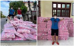 Người đàn ông tặng 10.000 băng vệ sinh cho các nữ công nhân đang cách ly ở Bắc Giang
