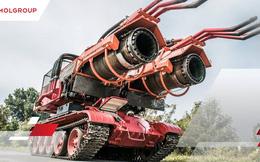 Xe tăng T-34 'dung hợp' tiêm kích MiG-21 tạo ra Big Wind - xe cứu hỏa mạnh nhất thế giới