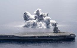 Nổ kinh hoàng gần tàu sân bay mới nhất của Hải quân Mỹ: Chuyện gì đang xảy ra?