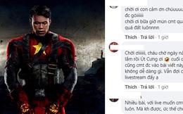 """Dừng livestream, Bùi Tấn Trường """"tổng tấn công"""" Facebook, xin fan chỉ cách mở khóa bình luận"""