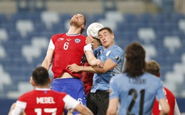 Vidal phản lưới nhà, Chile đánh rơi chiến thắng trước Uruguay ở Copa America 2021