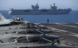 """Máy bay chiến đấu Nga """"vây hãm"""" tàu sân bay mới nhất: Hạm trưởng Anh choáng váng!"""