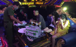 """35 thanh niên, học sinh tham gia tiệc ma tuý, """"quẩy"""" tưng bừng ở quán karaoke"""