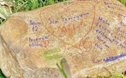 Hòn đá khắc chữ ở công viên vén màn tội ác kinh hoàng suốt 7 năm của gã hàng xóm đồi bại