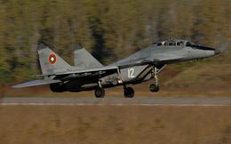 Bulgaria tìm thấy hộp đen máy bay tiêm kích MiG-29 rơi ở Biển Đen