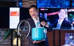 """Shark Phú """"thị phạm"""" livestream bán """"nồi cơm điện nấu được cơm"""" gây sốt"""