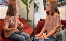 """Hình ảnh mới nhất của cô Xuyến """"Về nhà đi con"""" sau khi bị chồng 4 truy sát: Mũi băng kín, mếu máo khóc"""