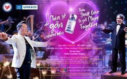 """Quà tặng đặc biệt gửi tới những người đóng góp cho Quỹ Vắc-xin trong đêm hòa nhạc """"Sẻ chia để gần nhau hơn"""""""