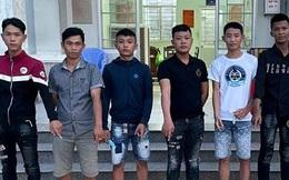 Mâu thuẫn trong việc đỗ ô tô, 4 thanh niên bị nhóm đối tượng lạ mặt chém thương tích