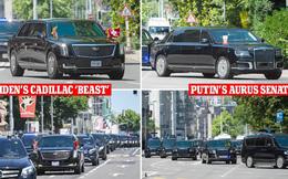 Video: So sánh đoàn xe tổng thống Mỹ Joe Biden và tổng thống Nga Vladimir Putin - có gì đặc biệt?