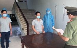 Tạm giam hai lái xe chở nhóm người Trung Quốc nhập cảnh trái phép