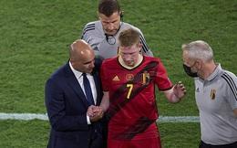 ĐT Bỉ nín thở chờ tin từ Eden Hazard và De Bruyne