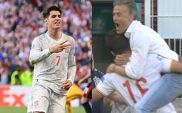 """Tây Ban Nha hạ Croatia sau 120 phút """"điên rồ"""", Morata ghi siêu phẩm trong trận cầu 8 bàn thắng"""