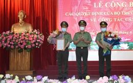 Giám đốc Công an tỉnh Hưng Yên làm Cục trưởng của Bộ Công an
