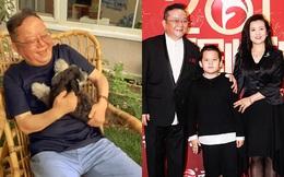 """Cuộc sống điền viên, vui vầy bên vợ trẻ con thơ của """"Hòa Thân"""" Vương Cương ở tuổi 73"""