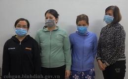 """Bình Định: Triệt phá đường dây số đề do 5 """"quý bà"""" cầm đầu"""