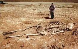 Thực hư bộ hài cốt dài 3 mét trong mộ cổ 5.000 năm tuổi: Người khổng lồ ở Trung Quốc là có thật?