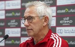 HLV Van Marwijk: 'UAE sẽ thắng tất cả để vào vòng tiếp theo'