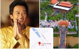 """""""Đền thờ Tổ nghiệp"""" của Hoài Linh bất ngờ đổi thành """"Trung tâm từ thiện 14 tỷ"""" trên ứng dụng Google Maps"""