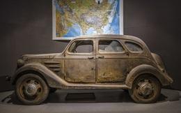Xót xa mẫu xe đầu tiên của Toyota từ trước thế chiến 2: Còn đúng 1 chiếc trên thế giới - tìm thấy như đống đồng nát ở nơi không ngờ
