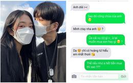 """Yêu 23 ngày liên tục đòi chia tay để bắt bạn trai tặng son, dòng tin nhắn của anh chàng khiến cô gái """"muối mặt"""""""